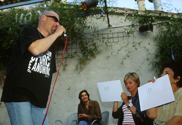 21. Catania, 2002, Poetry Slam siciliano